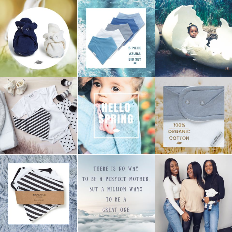 social media, Case Study: How Narzbaby used Instagram to launch their brand